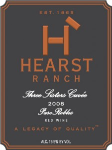 Hearst Ranch Three Sisters Cuvee 2008