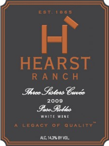 Hearst Ranch Three Sisters Cuvee 2009