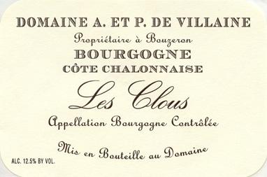 Villaine Bourgogne