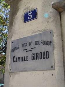 Camille Giroud sign