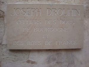 JOSEPH DROUHIN SIGN