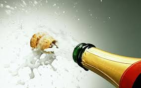 POPPING A CORK