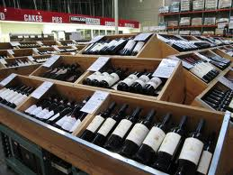 wine at costco