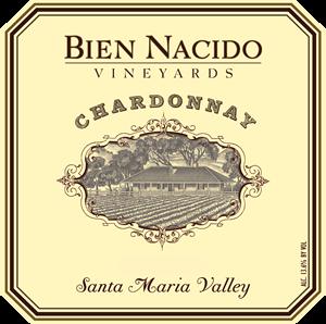Bien Nacido Chardonnay label