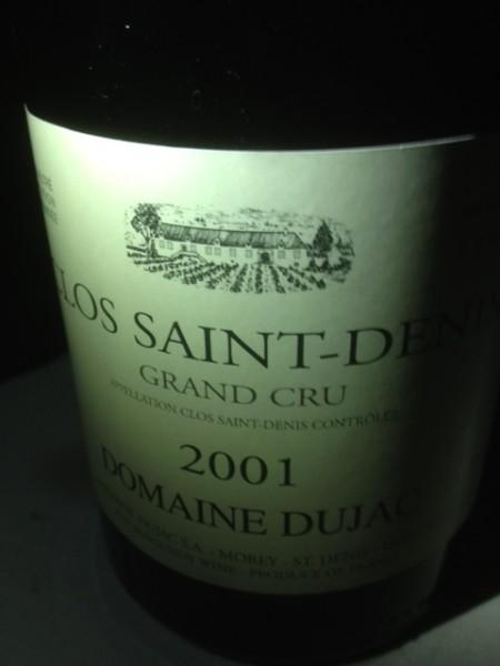 2001 Clos St Denis