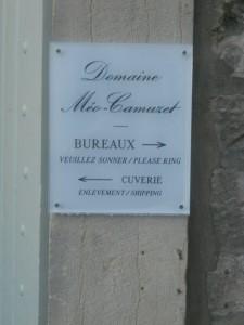 Meo-Camuzet sign 2014