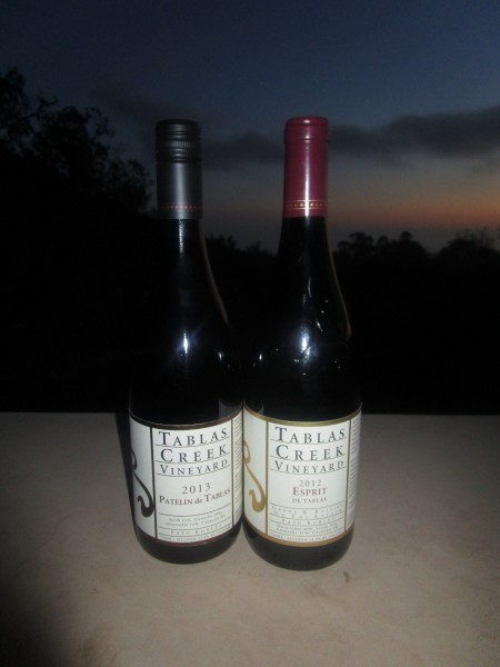 Tablas Creek 2012 and 2013