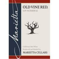 marietta cellars old vine red number 62