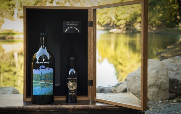 2012 Diamond Creek 40th Anniversary Jeroboam Set