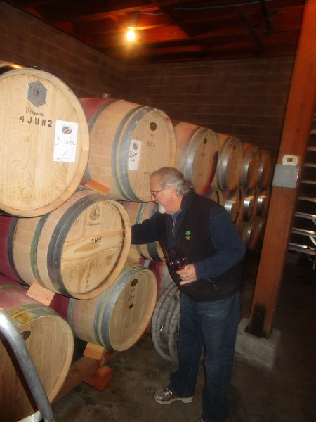 2013 diamond creek barrel tasting