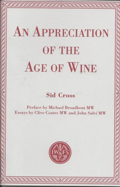 Sid Cross Wine Book