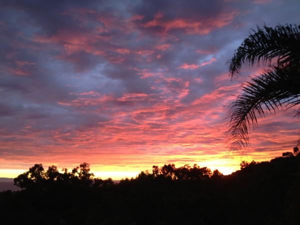 sunset sb