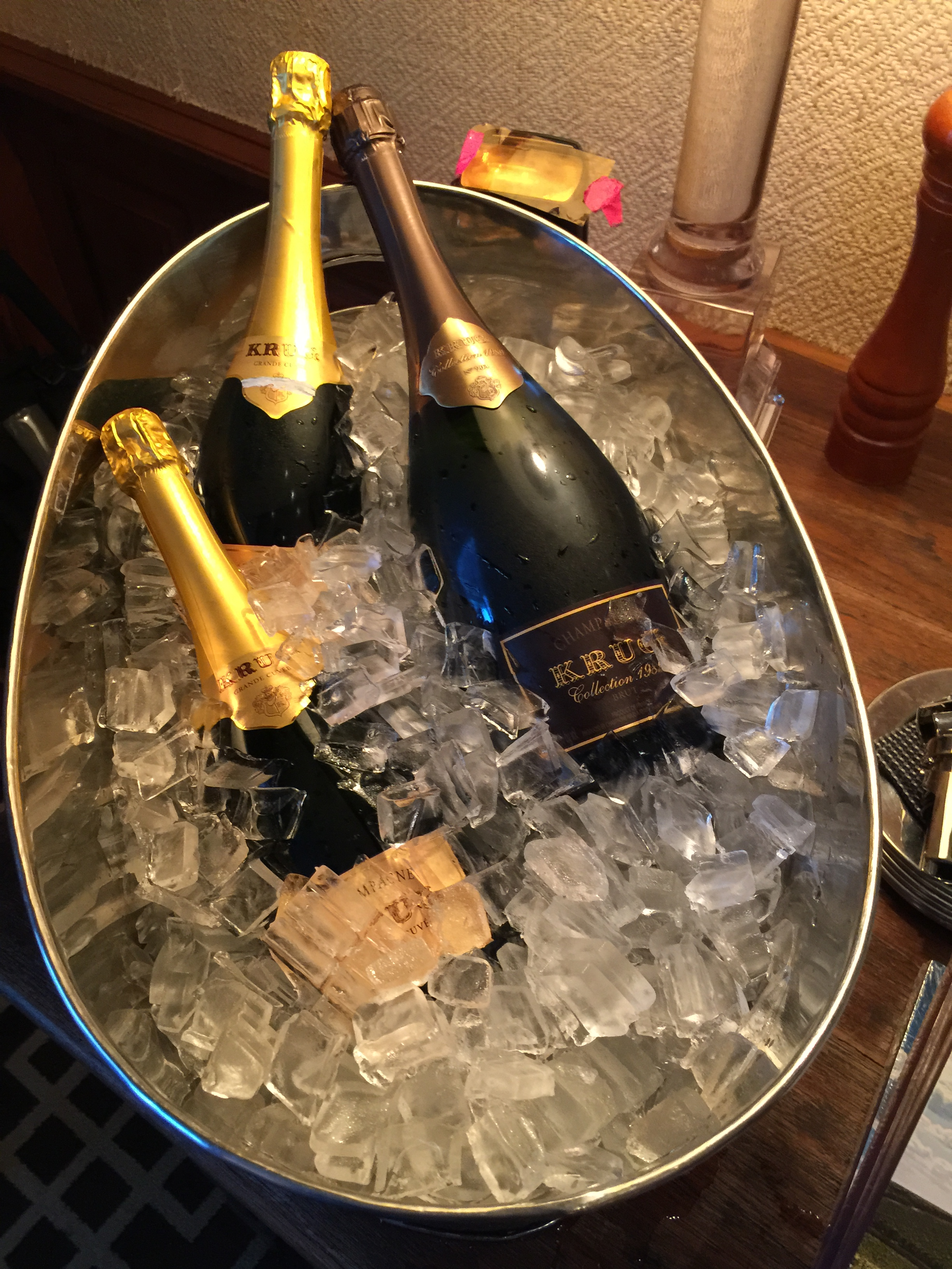 The Underground Wine Letter Krug Ice Bucket