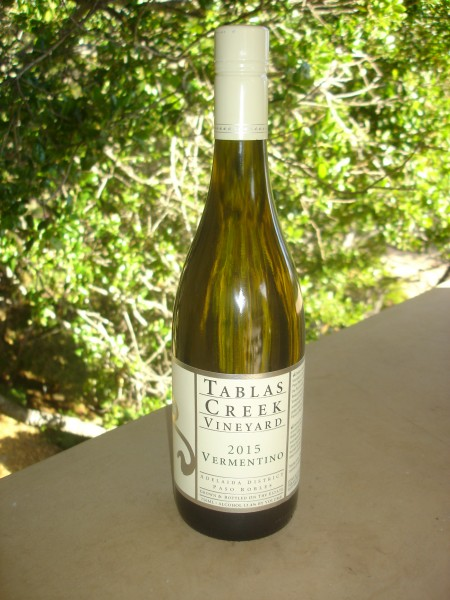 2015 tablas creek Vermentino