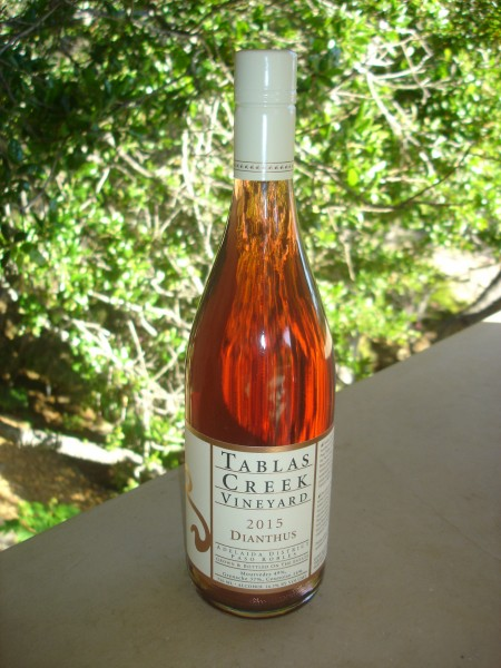 2015 tablas creek rose 1