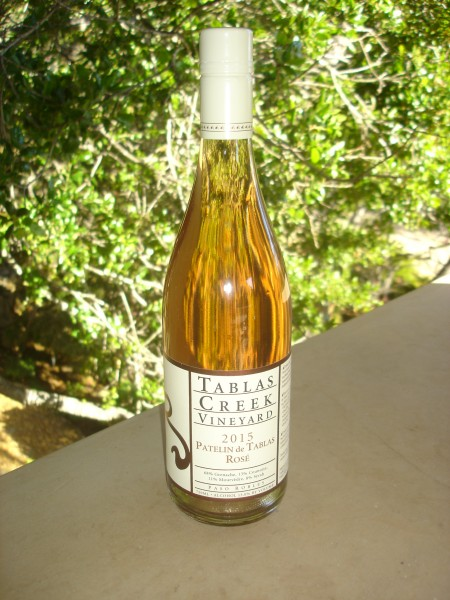 2015 tablas creek rose