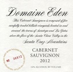 Domaine Eden 2012 CS