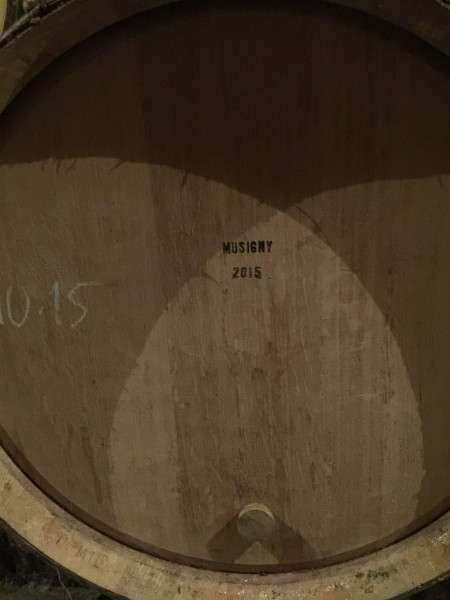 barrel musigny 2015