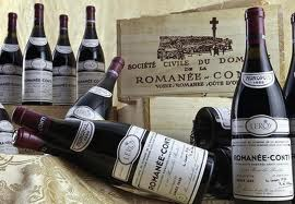 ROMANEE CONTI BOTTLES AND BOXES