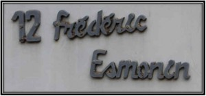 Frederic Esmonin sign