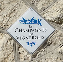 grower champagne sign