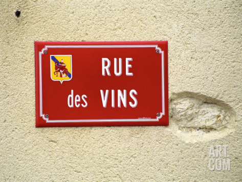 Languedoc wine sign