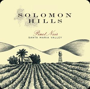 Solomon Hills Pinot Noir label