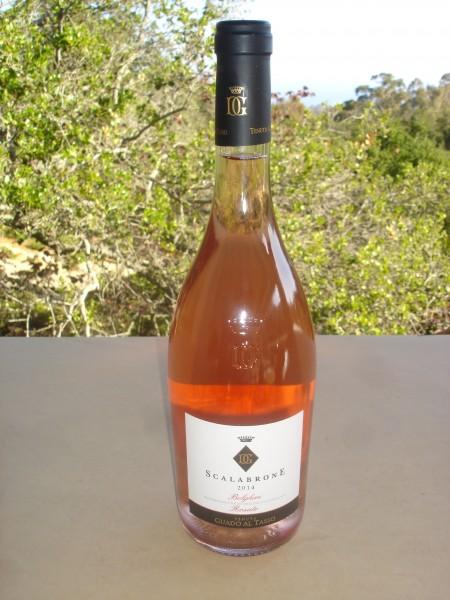 2014 Scalabrone rosé