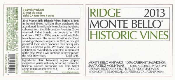 Ridge MB historic 2013