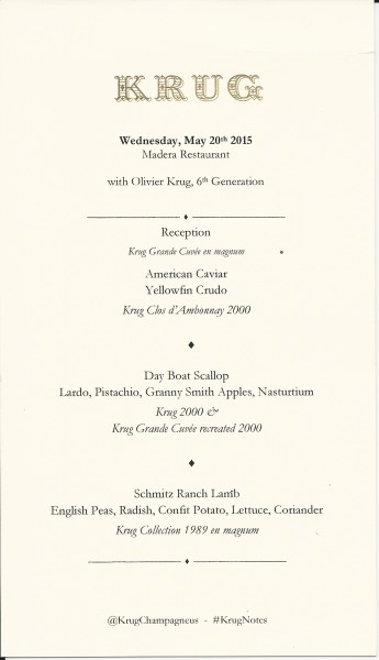 Krug menu 5.15
