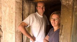 Pierre yves colin morey and wife