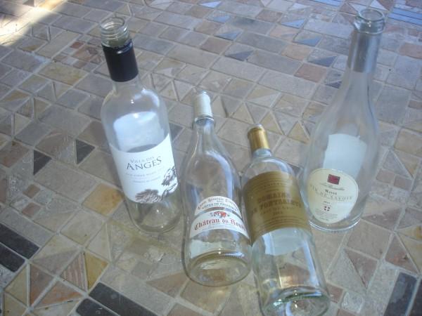 empty bottles 15 rose