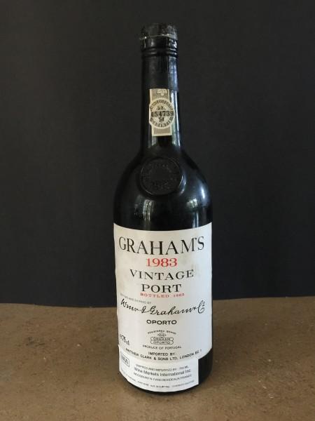 1983 Graham's vintage port