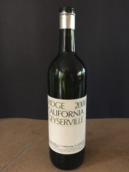 2000 Ridge Geyserville