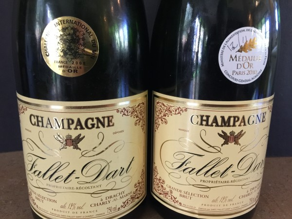 Fallet Dart Champagne gold medal 08 and 10
